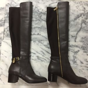 Michael Kors Over-the-Knee Boots, Leather/Fabric 8